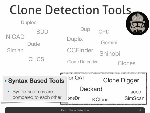 Clone detection in Python
