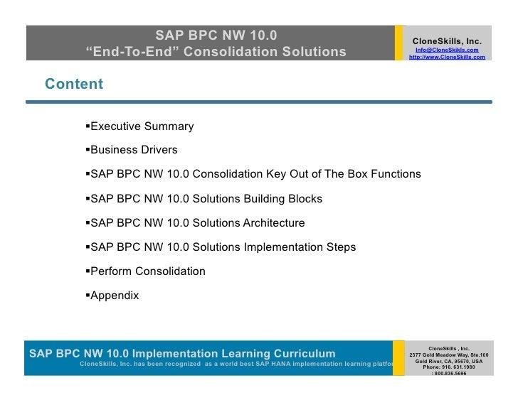 Sap Bpc Developer Cv July 2020