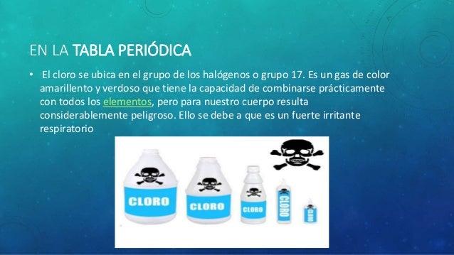 cloro  cl