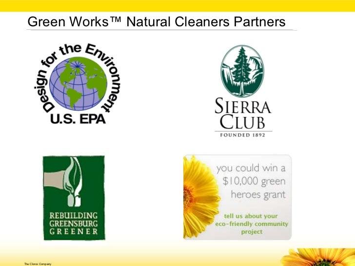 Case study clorox green works line