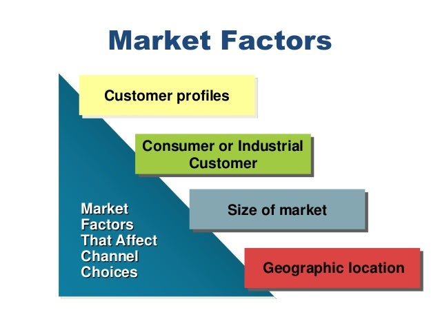 what is channel of distribution discuss the various factors which influence the choice of channel of A new channel strategy for dell  product type and lifecycle stage will always influence both customer needs and supply chain costs  is that channel choice.