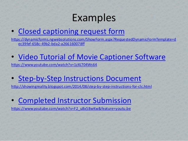 campus collaboration for closed captioning