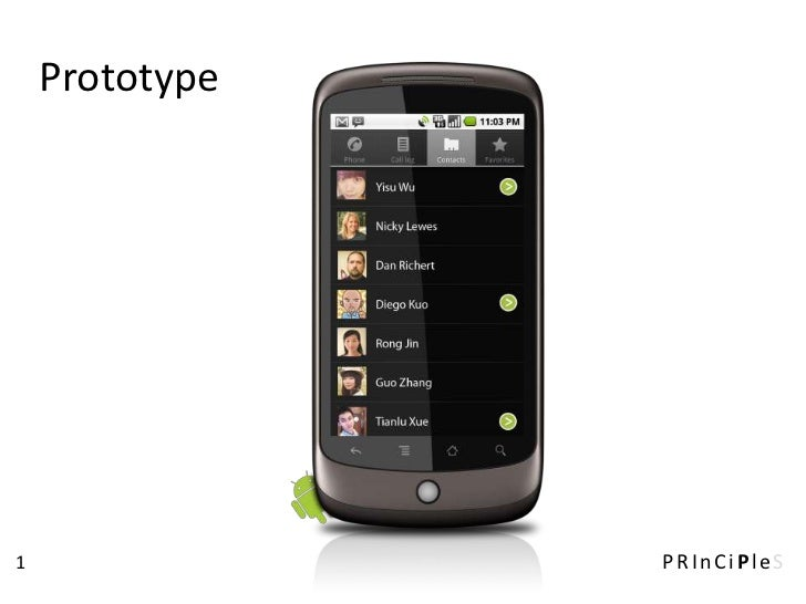 Prototype1               PRInCiPleS