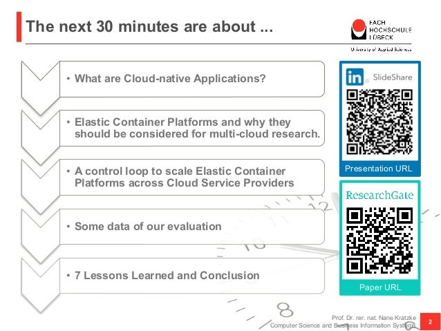 Smuggling Multi-Cloud Support into Cloud-native Applications using Elastic Container Platforms Slide 2
