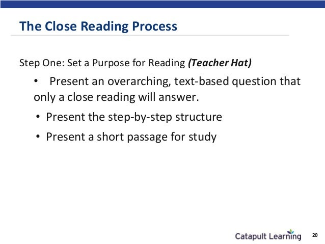 Essay #1: Close Reading Paper