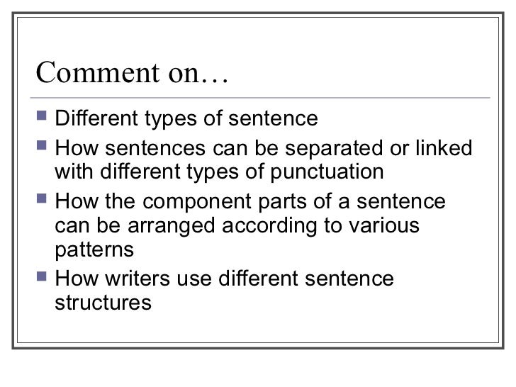 No Is A Complete Sentence Quote: Close Reading An Sentence Strct