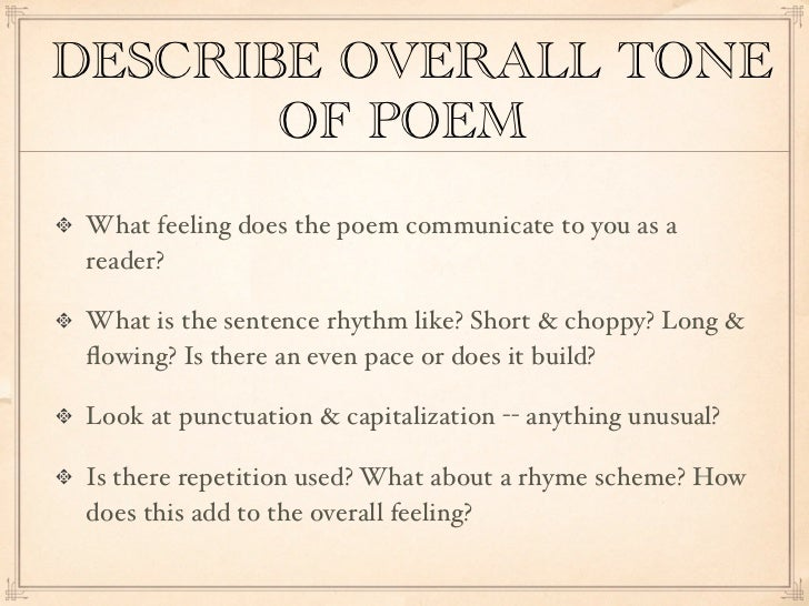 close reading of a poem Myths, drama, poetry, and more close reading requires students to read a text  multiple times in a close reading, students will analyze the text to determine.