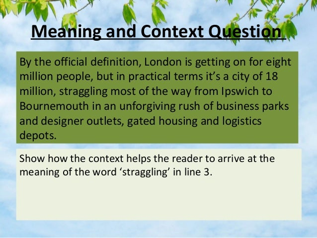 Close Reading Strategies for Higher English