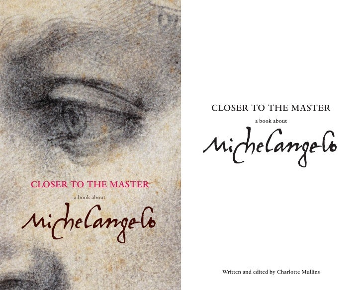 CLOSER TO THE MASTER              a book about          23 MARCH – 25 JUNE 2006          BOOK NOW 020 7323 8181          W...
