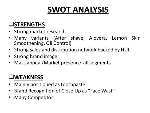 swot analysis of skin care product Here is the swot analysis of nivea which is one of the brands dedicated to skin care throughout the 100 years of its formation and is loved for its colors nivea.