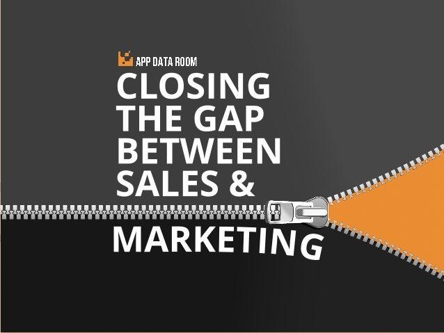 App Data Room - Closing The Gap Between Sales and Marketing
