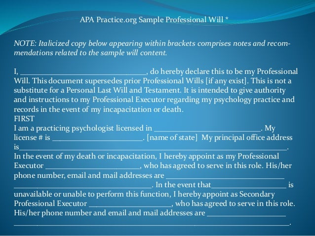 Closing a professional practice clinical ethical and practical cons you may also wish 21 apa practice sample spiritdancerdesigns Image collections