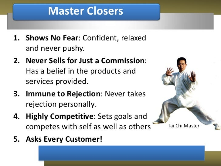 Fear Of Driving >> Closing Sales Sample