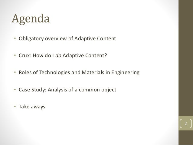 Closing the Gap on the Adaptive Content Challenge with Don Day Slide 2