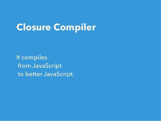 Closure Compiler Updates for ES6