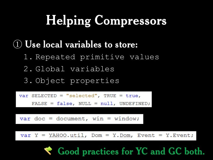 Closure Compiler vs YUICompressor