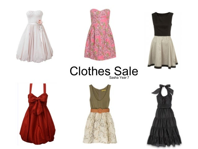 Clothes SaleSasha Year 7