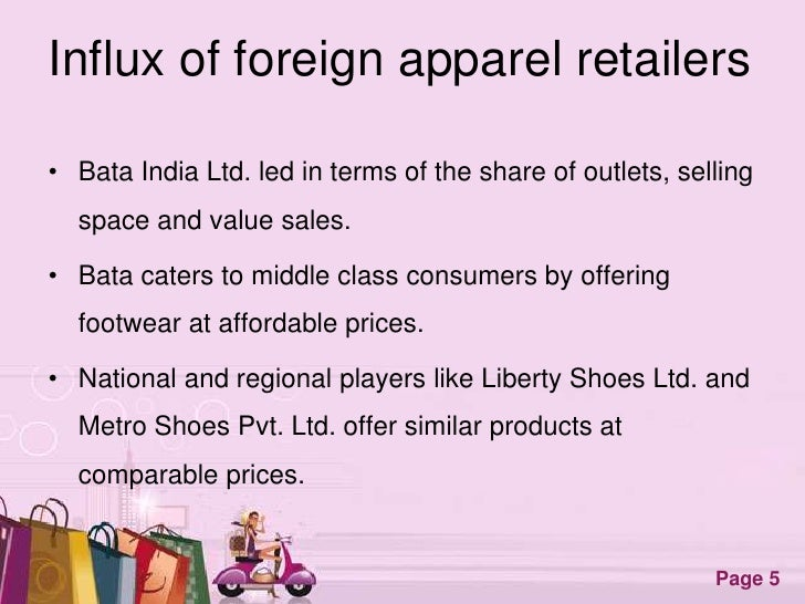 thesis regarding attire retailing for india