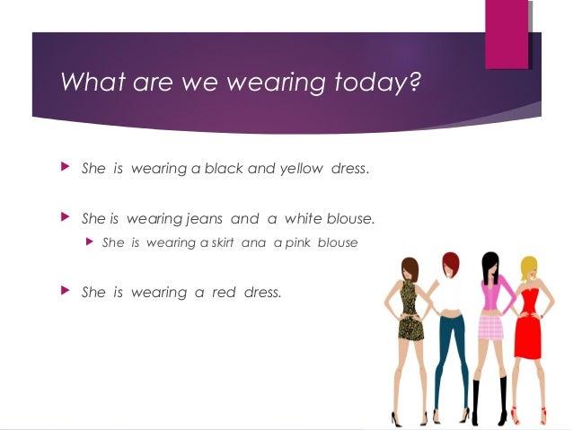 clothing descriptions jessica Slide 2
