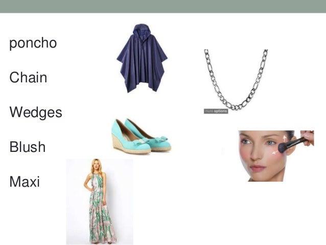 poncho Chain Wedges Blush Maxi