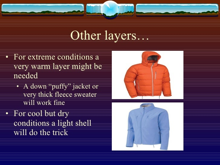 Clothing Presentation