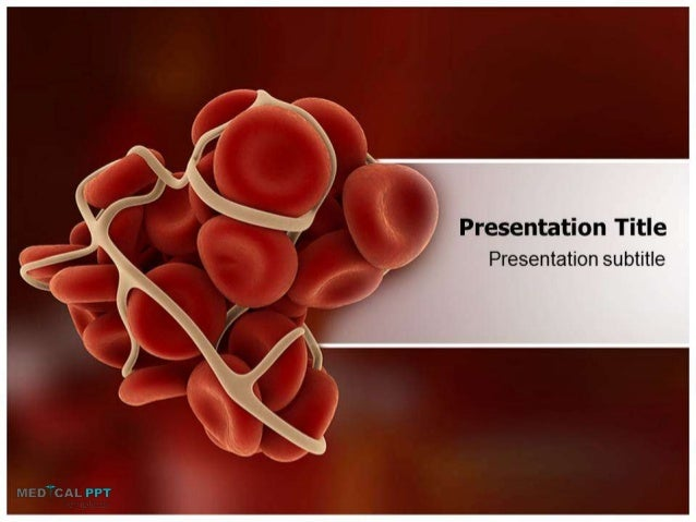 clotting cascade powerpoint templates