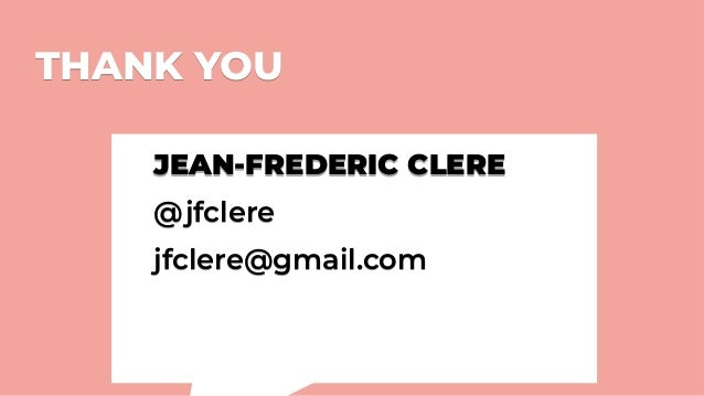 THANK YOUTHANK YOU JEAN-FREDERIC CLERE @jfclere jfclere@gmail.com JEAN-FREDERIC CLERE @jfclere jfclere@gmail.com