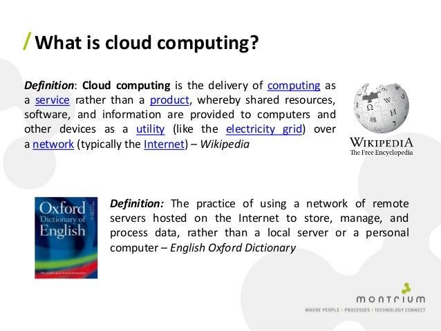 Virtualization and cloud computing - Intel