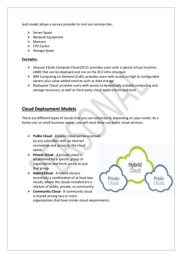 cloud computing white paper View recent cloud computing articles and whitepapers home skip to content services, modules, components, etc, are appropriate for deployment to a public or private cloud cloud computing maturity model: guiding success with cloud capabilities [dec more cloud computing white papers.