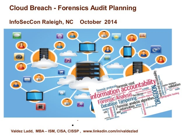 Cloud Breach - Forensics Audit Planning  InfoSecCon Raleigh, NC October 2014