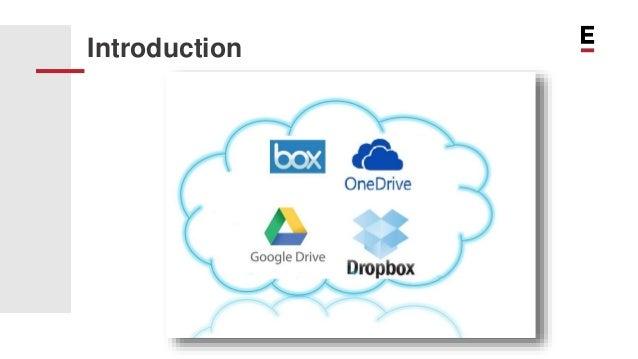 SaaS: Comparison between Dropbox, GoogleDrive and OneDrive