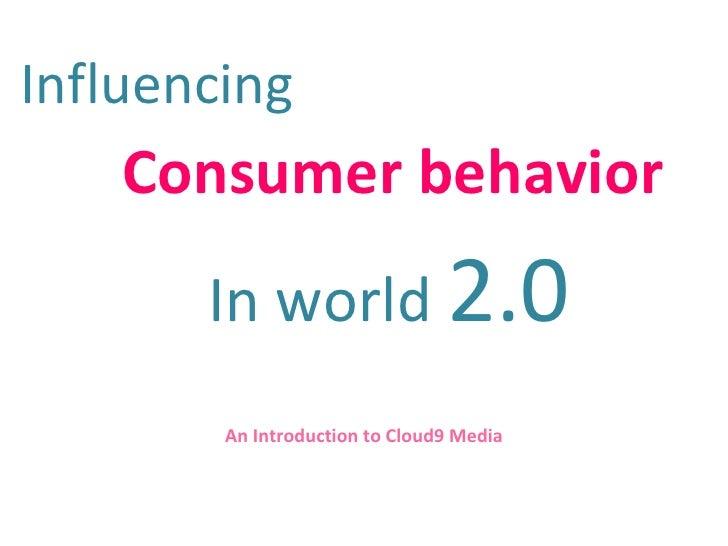Social Media Marketing - A Cloud9 Perspective