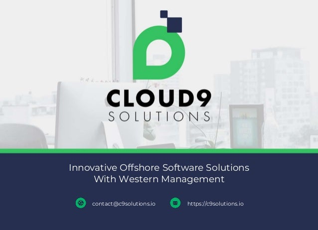 Innovative Offshore Software Solutions With Western Management contact@c9solutions.io https://c9solutions.io