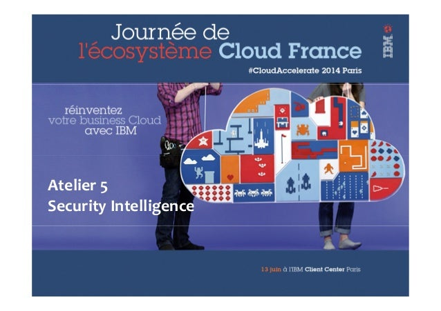 © 2013 IBM Corporation IBM Security Systems 1 Atelier 5 Security Intelligence