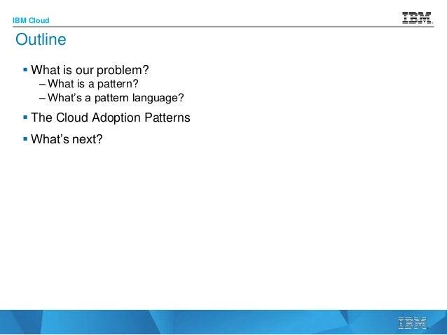 Cloud adoption patterns April 11 2016 Slide 2
