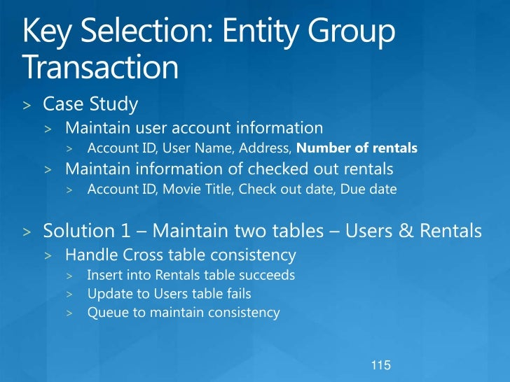 Movie Listing – Solution 2<br />All movies partitioned by category<br />Allows system to load balance hot partitions<br />...