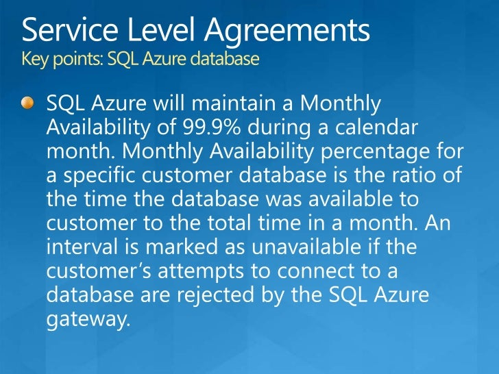 SQL Azure Reporting CTP<br />Features:<br />Based on SQL Server Reporting Services<br />Interactive and tabular reporting<...