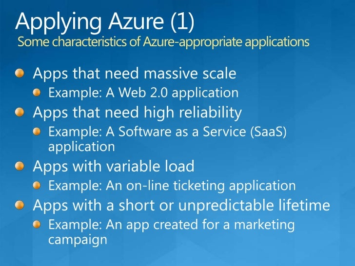 SQL Azure Data Sync CTP2<br />Elastic Scale<br />Service scales as resources requirements grow<br />No-Code Sync Configura...