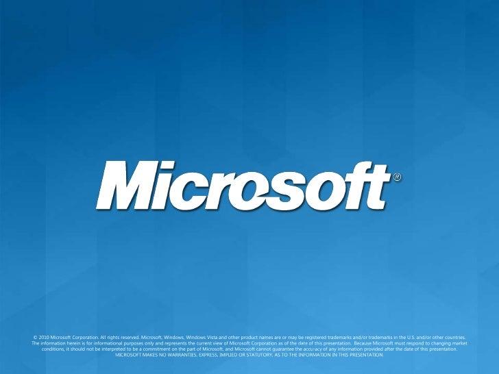 Using the Windows Azure Platform: Scenarios<br />