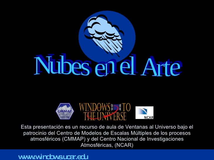 Esta presentación es un recurso de aula de Ventanas al Universo bajo el patrocinio del Centro de Modelos de Escalas Múltip...