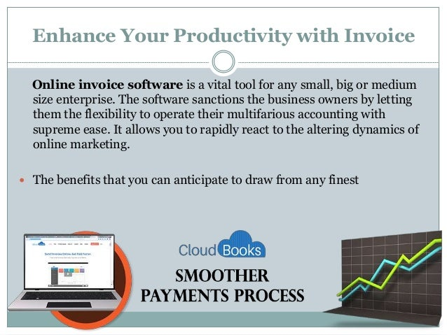 Cloud Books Online Invoicing Software - Invoice software cloud
