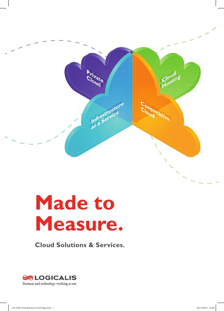 Made to                      Measure.                      Cloud Solutions & Services.J10-4164 Cloud Brochure Front Page.i...