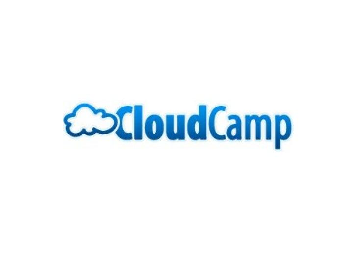Cloud Camp Mar 2011
