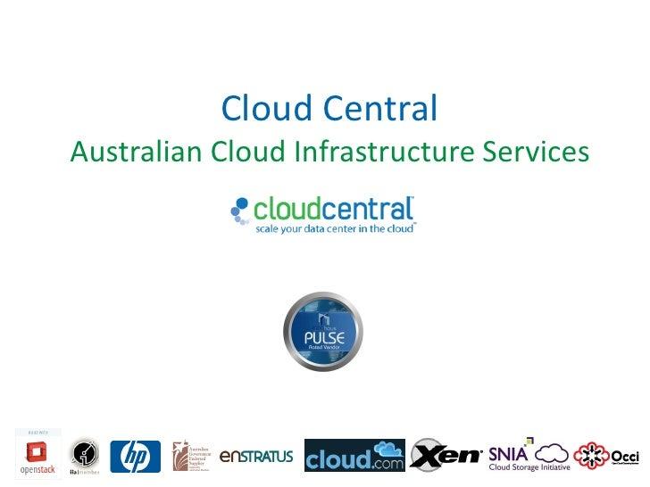 Cloud CentralAustralian Cloud Infrastructure Services