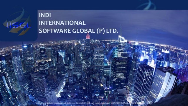 J D Power & Associates – AWS Account Segregation INDI INTERNATIONAL SOFTWARE GLOBAL (P) LTD.