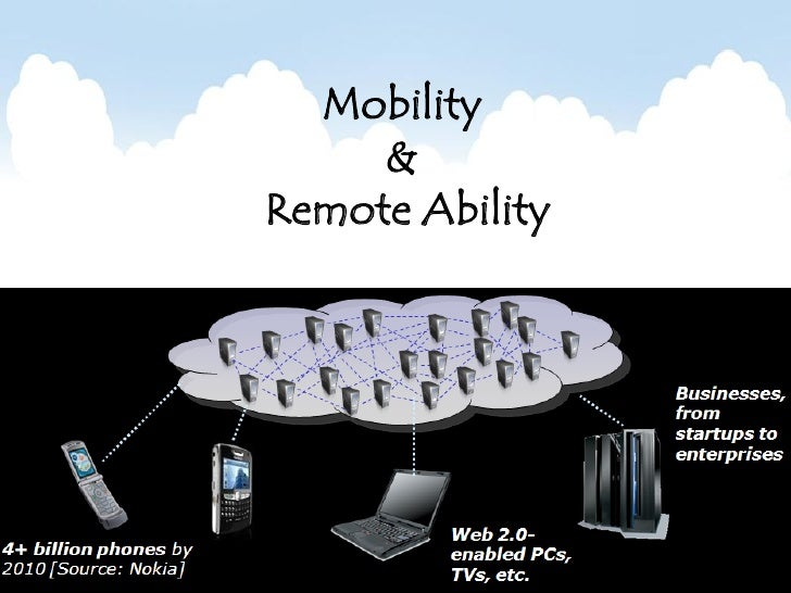 Mobility      & Remote Ability
