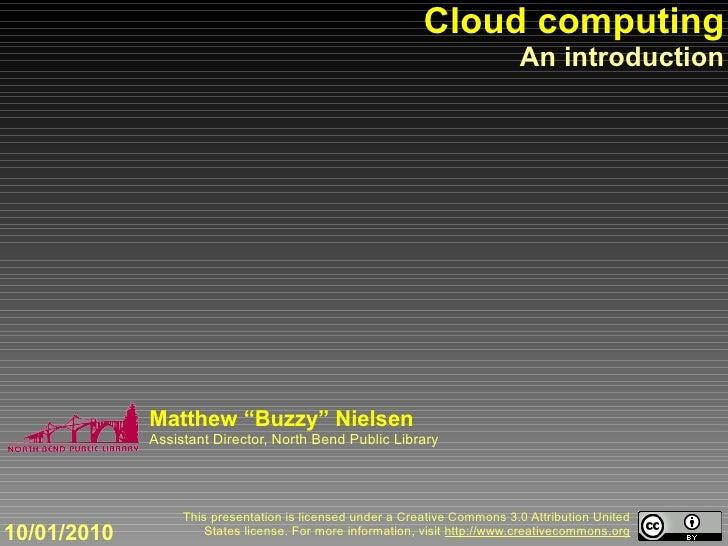 Cloud computing                                                                             An introduction               ...