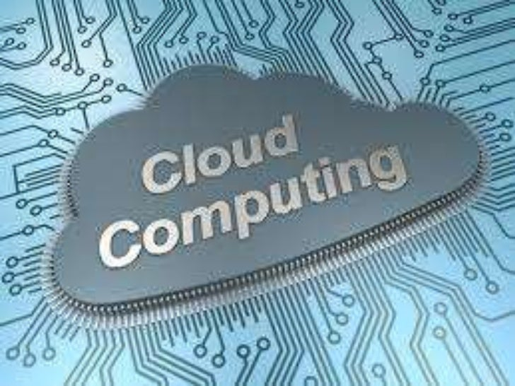 Cloud computing is a general term foranything that involves delivering hostedservices over the Internet!!