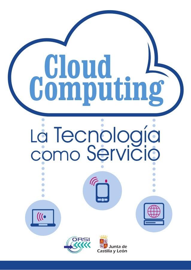 CloudComputingLa Tecnologíacomo Servicio