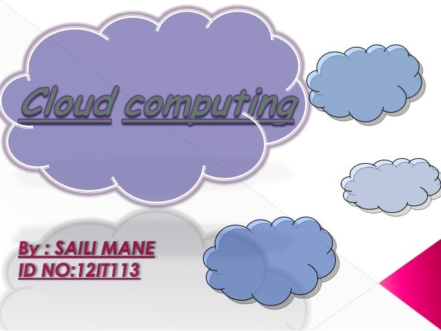 First, What the heck is Cloud Computing